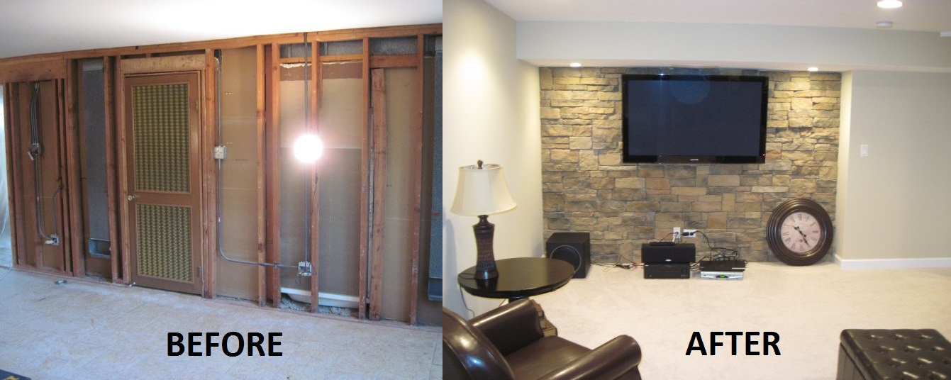 Image Result For Ba T Re Ing Pictures Before And After & Basement Remodeling Pictures Before And After | American HWY